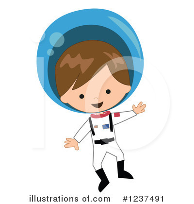 Astronaut Clipart #1237491 by peachidesigns