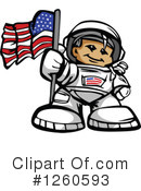 Astronaut Clipart #1260593 by Chromaco