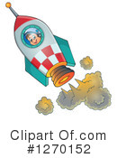 Royalty-Free (RF) Astronaut Clipart Illustration #1270152