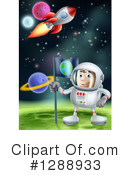 Astronaut Clipart #1288933 by AtStockIllustration