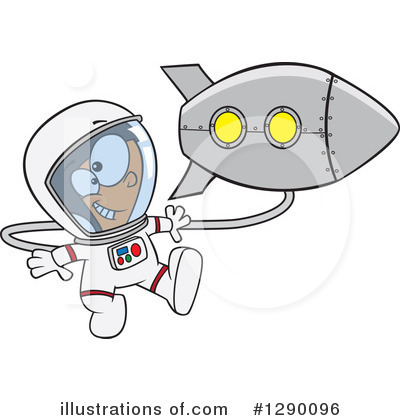 Astronaut Clipart #1290096 by toonaday