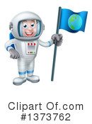 Astronaut Clipart #1373762 by AtStockIllustration