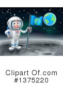 Astronaut Clipart #1375220 by AtStockIllustration
