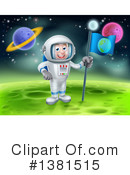 Astronaut Clipart #1381515 by AtStockIllustration
