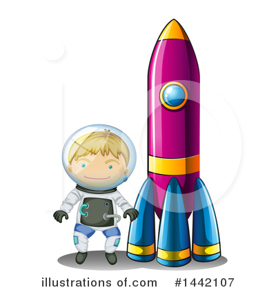 Astronaut Clipart #1442107 by Graphics RF