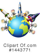 Astronaut Clipart #1443771 by Graphics RF