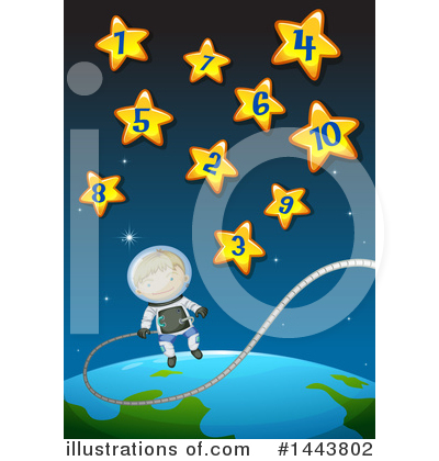 Astronaut Clipart #1443802 by Graphics RF