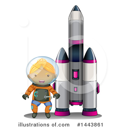Astronaut Clipart #1443861 by Graphics RF
