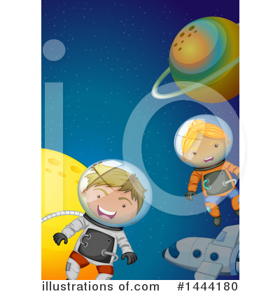 Astronaut Clipart #1444180 by Graphics RF