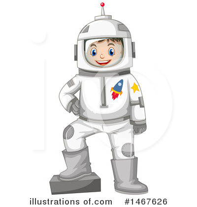 Astronaut Clipart #1467626 by Graphics RF