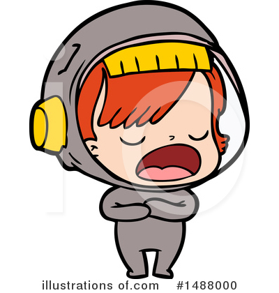 Astronaut Clipart #1488000 by lineartestpilot