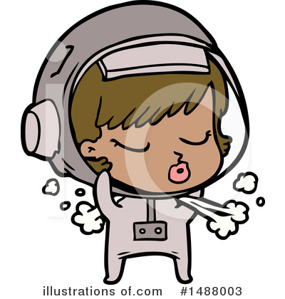 Astronaut Clipart #1488003 by lineartestpilot