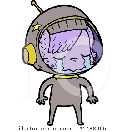 Astronaut Clipart #1488005 by lineartestpilot