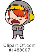 Astronaut Clipart #1488007 by lineartestpilot