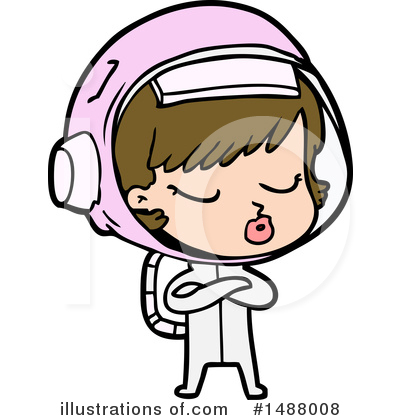 Astronaut Clipart #1488008 by lineartestpilot