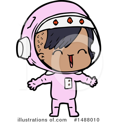 Astronaut Clipart #1488010 by lineartestpilot