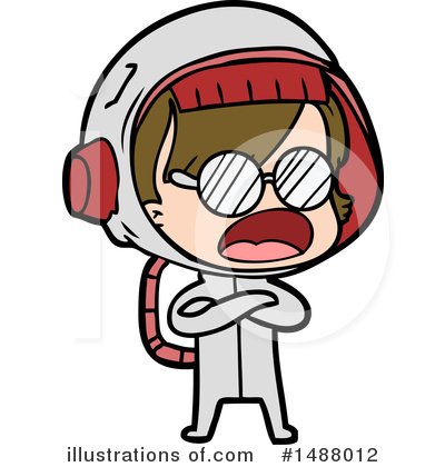 Astronaut Clipart #1488012 by lineartestpilot
