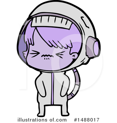 Astronaut Clipart #1488017 by lineartestpilot