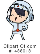 Astronaut Clipart #1488018 by lineartestpilot