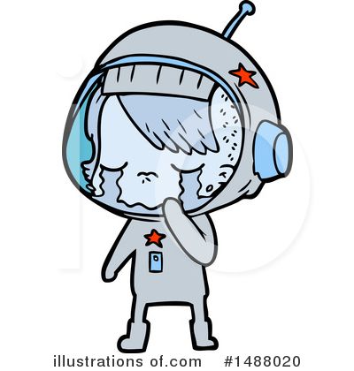 Astronaut Clipart #1488020 by lineartestpilot