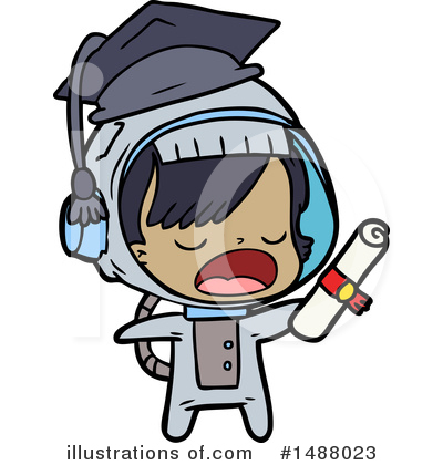 Astronaut Clipart #1488023 by lineartestpilot