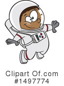 Astronaut Clipart #1497774 by toonaday