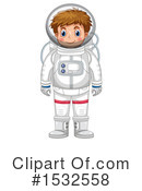 Astronaut Clipart #1532558 by Graphics RF