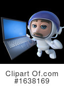Astronaut Clipart #1638169 by Steve Young