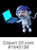Astronaut Clipart #1640138 by Steve Young