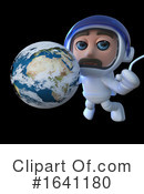 Astronaut Clipart #1641180 by Steve Young