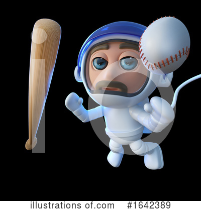 Baseball Clipart #1642389 by Steve Young