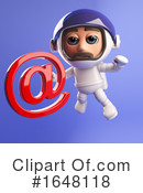 Astronaut Clipart #1648118 by Steve Young