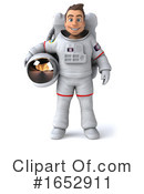 Astronaut Clipart #1652911 by Julos