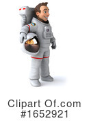 Astronaut Clipart #1652921 by Julos