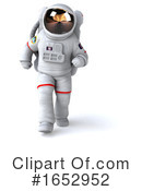 Astronaut Clipart #1652952 by Julos