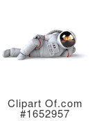 Astronaut Clipart #1652957 by Julos