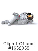 Astronaut Clipart #1652958 by Julos