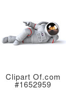Astronaut Clipart #1652959 by Julos