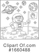 Astronaut Clipart #1660488 by AtStockIllustration