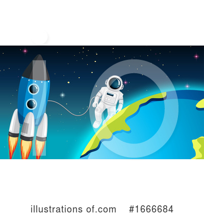 Astronaut Clipart #1666684 by Graphics RF