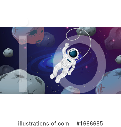 Astronaut Clipart #1666685 by Graphics RF