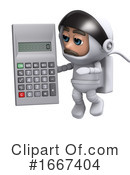 Astronaut Clipart #1667404 by Steve Young