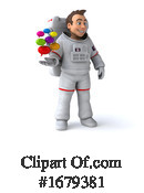 Astronaut Clipart #1679381 by Julos