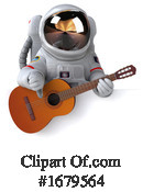 Astronaut Clipart #1679564 by Julos