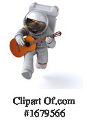 Astronaut Clipart #1679566 by Julos