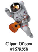 Astronaut Clipart #1679568 by Julos