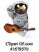 Astronaut Clipart #1679570 by Julos