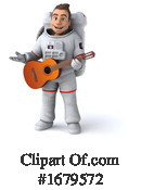 Astronaut Clipart #1679572 by Julos