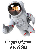 Astronaut Clipart #1679583 by Julos