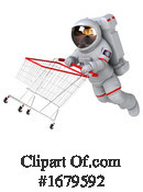 Astronaut Clipart #1679592 by Julos